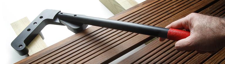 tout savoir sur les espaceurs de lames pour les terrasses. Black Bedroom Furniture Sets. Home Design Ideas