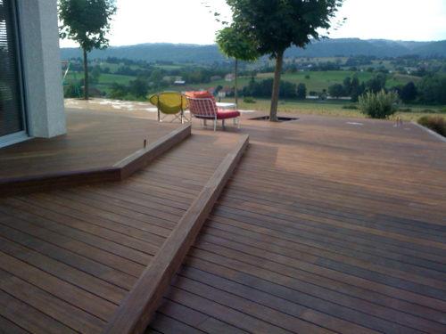 Terrasse Sur Poteaux Et Poutres Le Blog De La Terrasse Bois