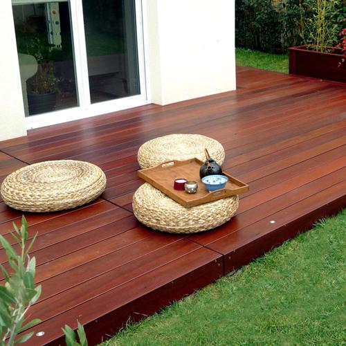 Le cumaru, un bois exotique pour une terrasse ~ Bois Exotique Massaranduba