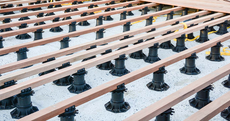 Comment Fabriquer Une Terrasse En Beton prix de la structure - terrasse bois, lambourde, plots