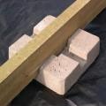 Plot beton pour terrasse bois