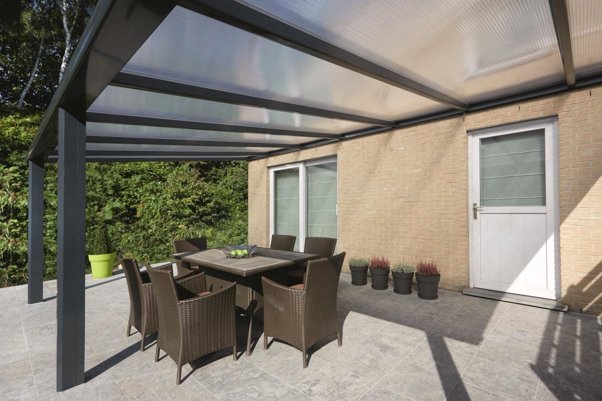 Pergola Namelis en aluminium - Abri terrasse, auvent, pergola