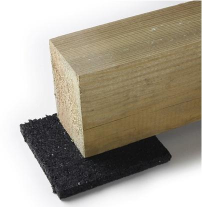 utilisation des cales pour la construction d 39 une terrasse en bois. Black Bedroom Furniture Sets. Home Design Ideas
