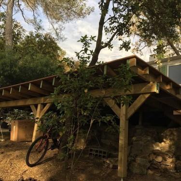comment construire une terrasse suspendue terrasse bois. Black Bedroom Furniture Sets. Home Design Ideas