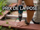 Prix pose terrasse bois